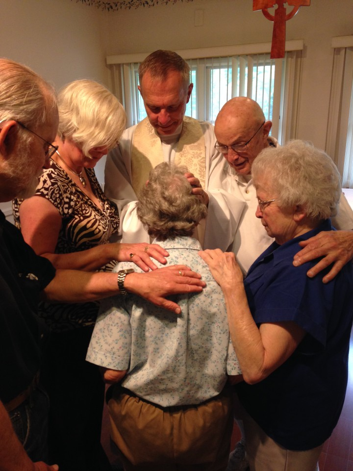 Healing Prayers are offered in the Chapel nearly every Thursday at 9:30 A.M.