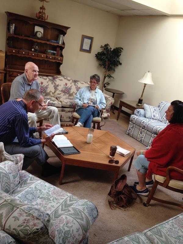Bible Study start up September 2015