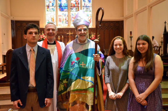 We are so proud of our Youth Confirmands
