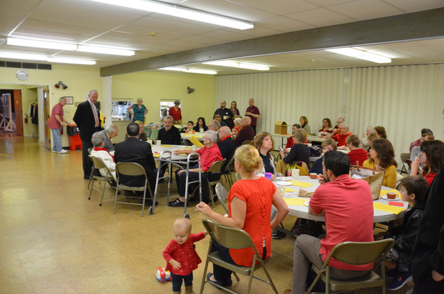 Newcomer Reception at Pentecost