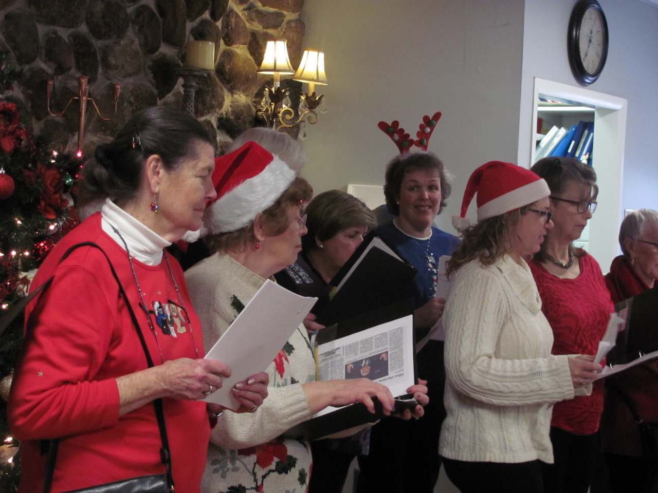Carol Singing at Residential homes 2016