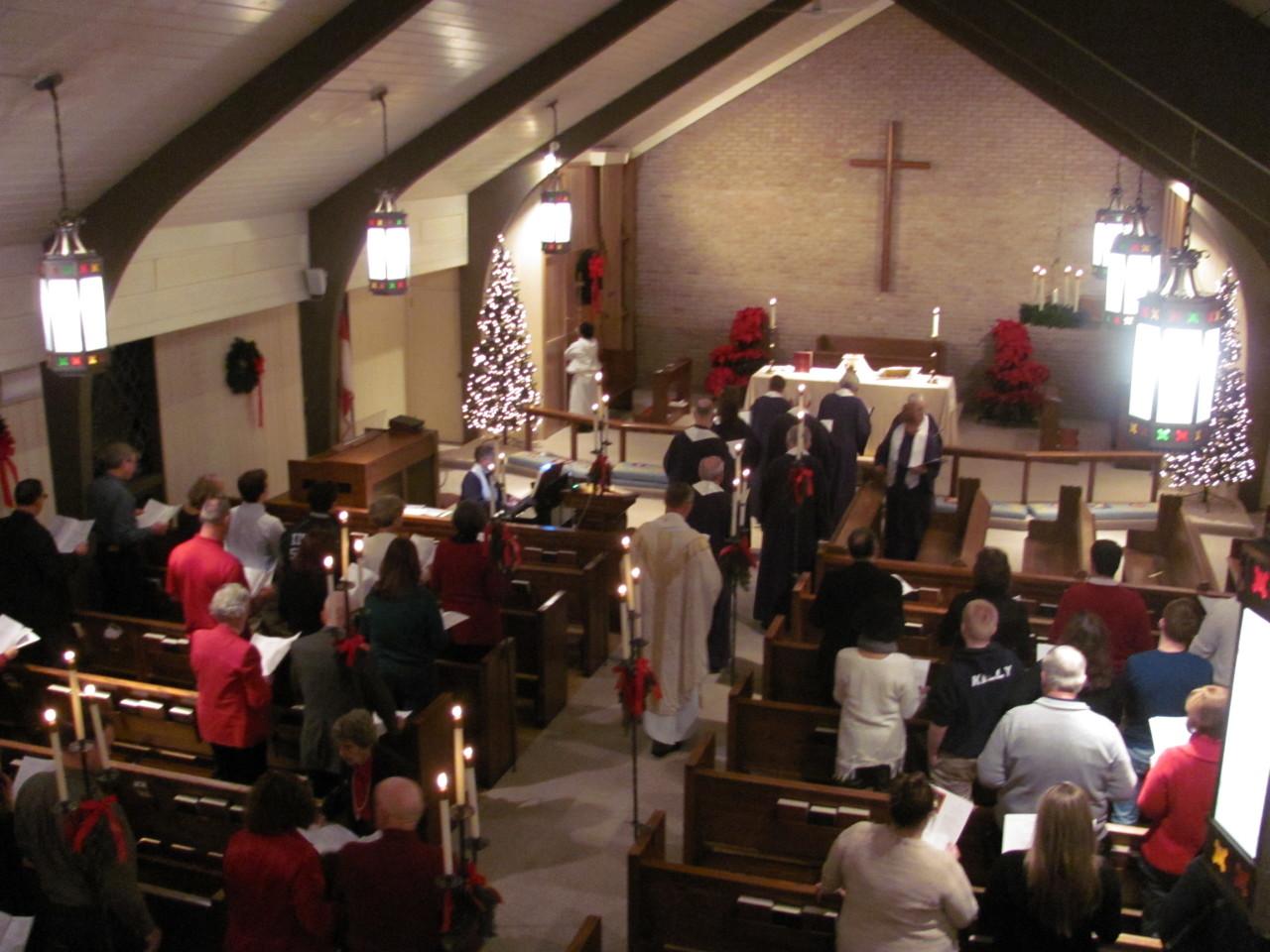 Christmas Eve service 2017