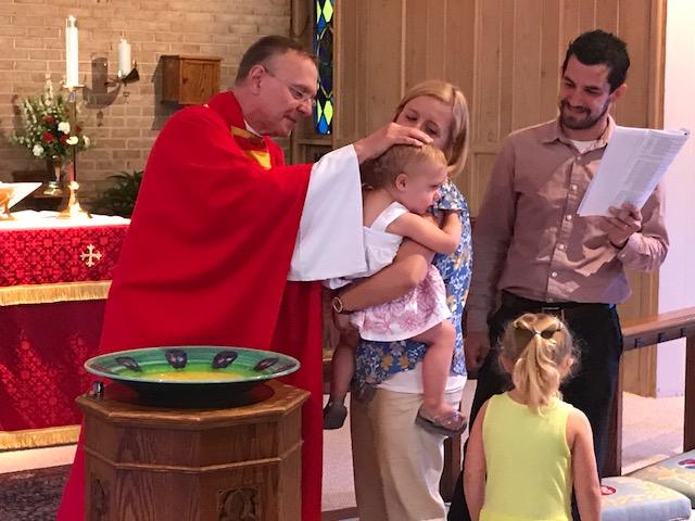 Baptism, Pentecost 2017