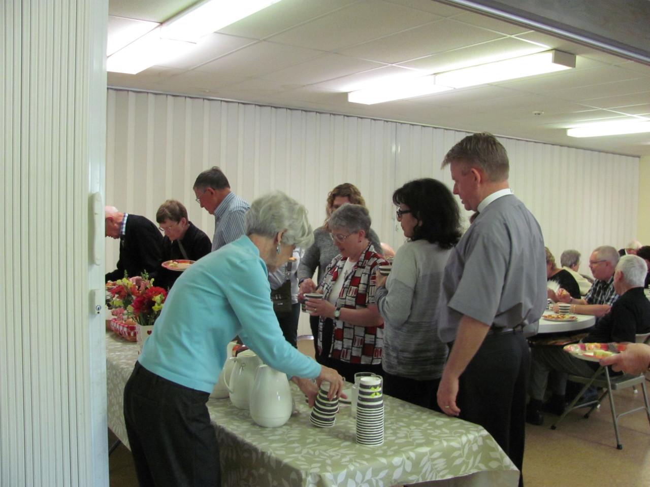 Potluck Brunch at Reunion Sunday