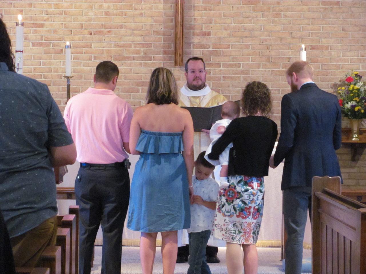Luino baptism July 2018