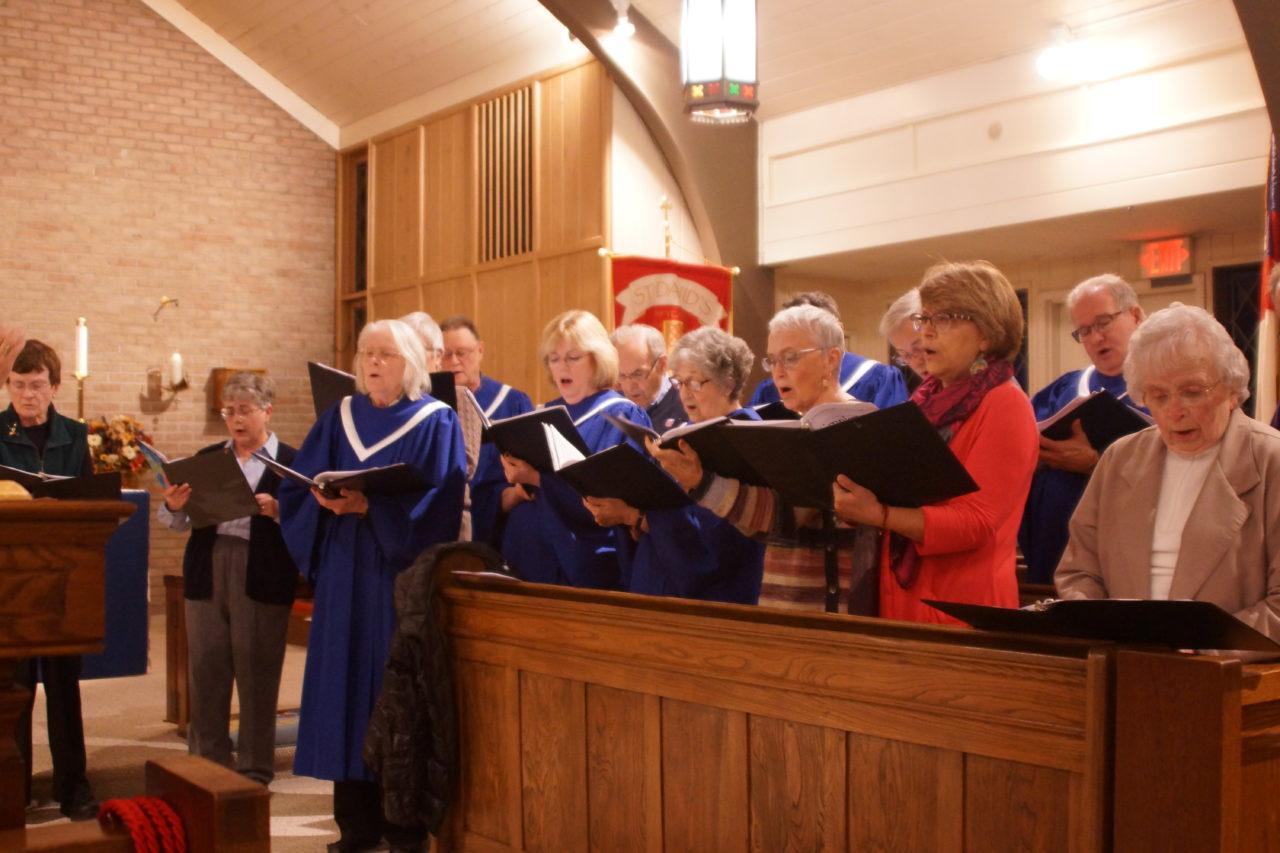 Community Thanksgiving service at St. David's