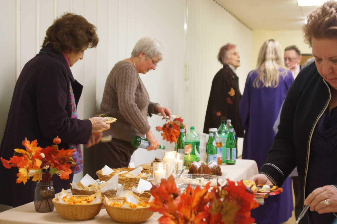 Community Thanksgiving Reception 2018